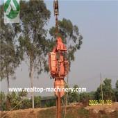 Electric Piling Hammer, piling hammer, piling equipment, round pile piling hammer, cement pile piling hammer