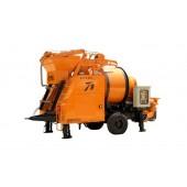 concrete mixer pump, concrete mixer with pump, Diesel concrete pump, Diesel concrete mixer