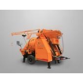 concrete mixer with pump, poratble concrete mixer with pump, electric concrete mixer pump, concrete mixing pump