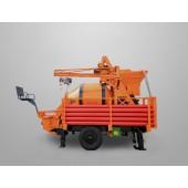 electric trailer concrete mixer pump,  portale concrete mixer pump, concrete mixing pump, concrete mixer with pump