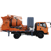 truck concrete mixer pump, upload of concrete mixer pump