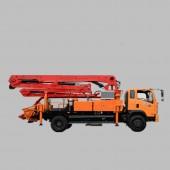 Truck mounted Concrete Pump, truck concrete pump, concrete boom pump, small concrete boom pump