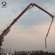 concrete placing boom,placing boom,concrete placing boom for sale,zoomlion placing boom