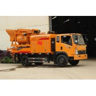 truck concrete mixer pump, movable concrete mixer pump, truck concrete mixing pump