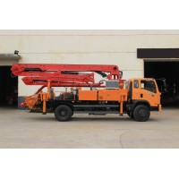 Truck mounted Concrete Pump, truck concrete pump, concrete boom pump, small concrete boom pump