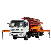 Truck Mounted Concrete Pump, concrete boom pump, movable concrete pump