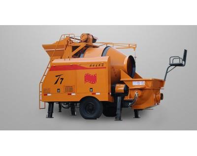 Concrete mixer pump, concrete pump with mixer, mixing pump