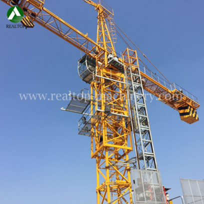 Tower crane,Topkit Tower Crane, Flat-top 10t tower crane, Luffing Tower Crane, Topless Tower Crane