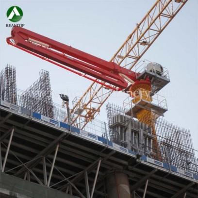 concrete placing boom,placing boom,concrete placing boom for sale, hydraulic placing boom