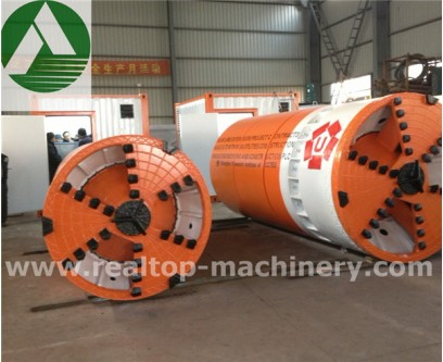 pipe jacking machine, trenchless euqipemnt, MEA, TBM, underground pipe laying, realtop
