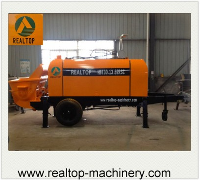Diesel Trailer Mounted Concrete Pump,Concrete Pump,Concrete machine,Trailer Concrete Pump,Trailer Mounted Concrete Pump,