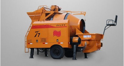 Concrete mixer pump, concrete pump with mixer, mixing pump