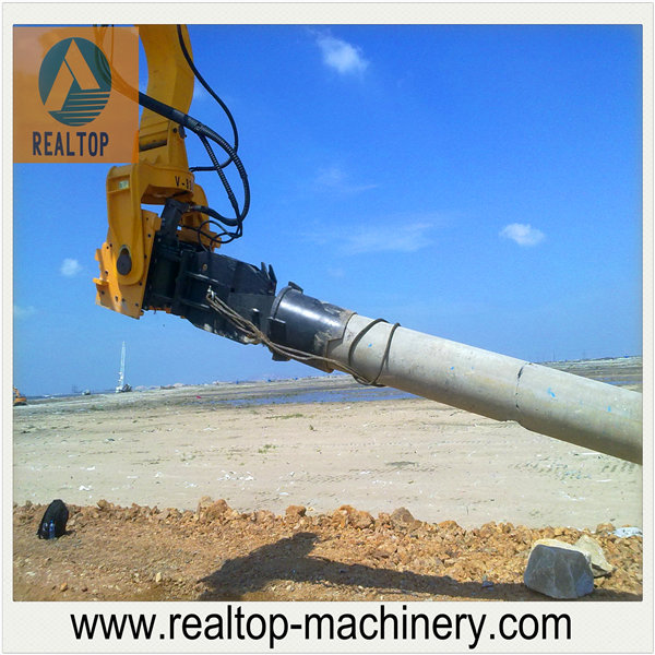 RP300 hydraulic pile driver